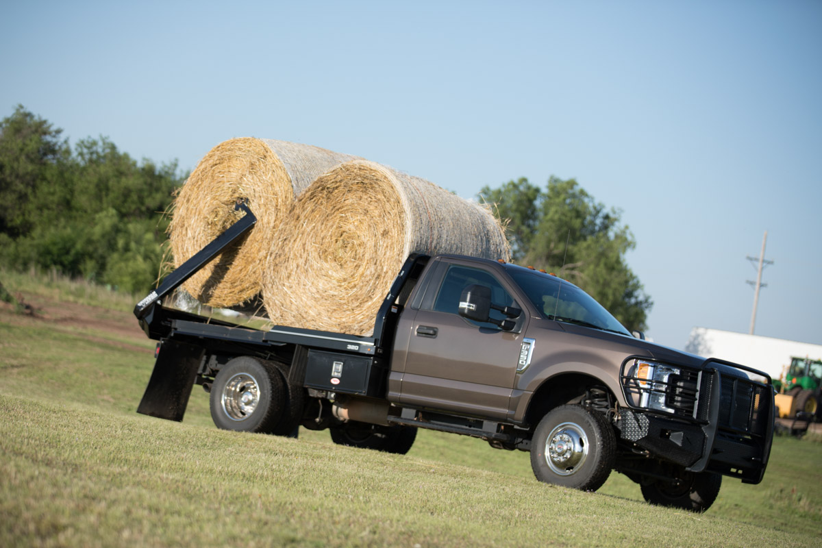 Hay Bale Truck Beds