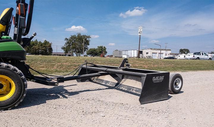C5 Dirt Scraper Pull Behind Scraper 04